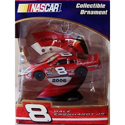 "NASCAR: ""DALE EARNHARDT Jr. #8 DEI/RITZ"" 2006 Christmas Ornament -Trevco -New!"