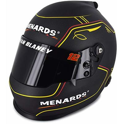 Ryan Blaney Full Size Menards Collectible NASCAR Replica Helmet