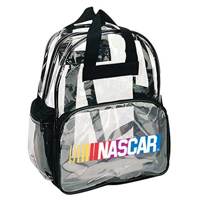 R and R Imports Nascar Clear Backpack