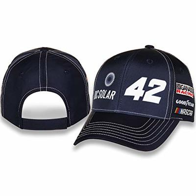NASCAR Kyle Larson DC Solar 100% Polyester Standard Profile Structured Hat with Velcro Closure