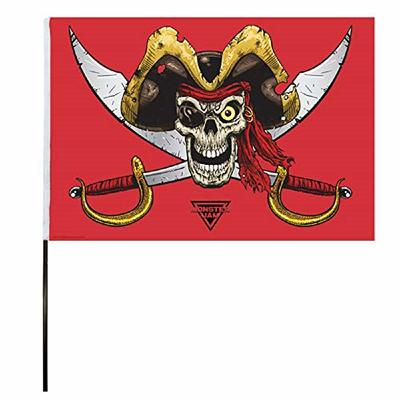 Monster Jam Pirate's Curse Flag (14×22 in)