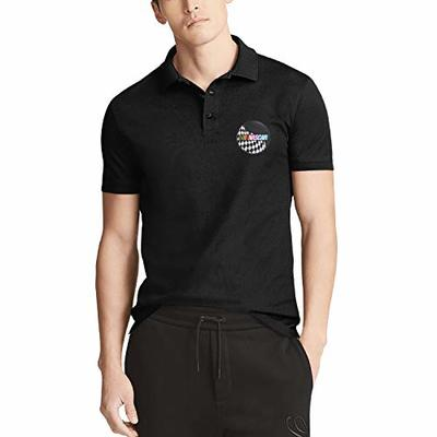 Jiunz Men's Polo Shirt NASCAR Classic Collared Short Sleeve Tee