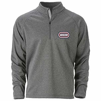 Ouray Sportswear NASCAR NASCAR Mens Quest 1/4 ZipQuest 1/4 Zip, Athletic Heather, S