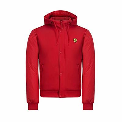 Branded Sports Merchandising B.V. Scuderia Ferrari F1 Men's Hooded Bomber Jacket Red (M)