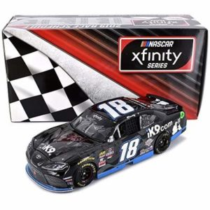 Lionel Racing Kyle Busch Autographed 2019 Las Vegas Win iK9 Raced Version NASCAR Diecast Car 1:24 Scale