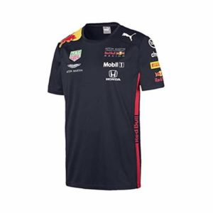 Aston Martin Red Bull Racing F1 Team T-Shirt 2019 Kids 15-16 yrs Blue