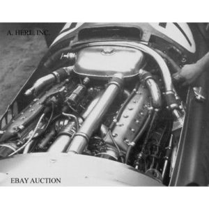 BRM P15 – V16 engine Formula One 1951 F1 Grand Prix England racing car photo