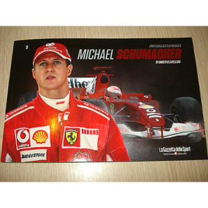 Book N°3 the Myth of F.1 F1 Ai Spoke x Michael Schumacher Formula One Ferrari