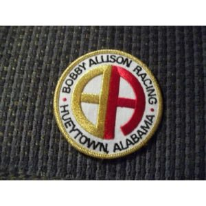 Vintage Bobby Allison Racing Inc Hueytown, Alabama Fan Club Member NASCAR Patch