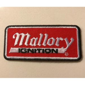 Mallory Ignition NASCAR NHRA  Embroidered Patch