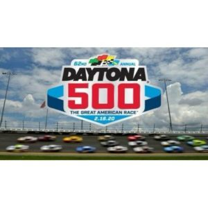 2020 DAYTONA 500 LOGO MAGNET NASCAR RACE INTERNATIONAL SPEEDWAY 62ND RACING FLOR