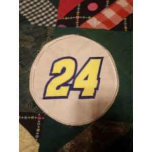 Jeff Gordon Number 24 Nascar Racing Embroidered  Patch