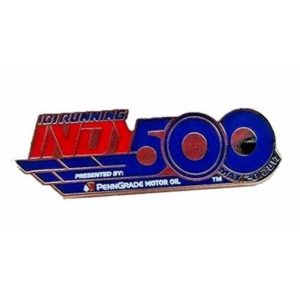 2017 Indianapolis 500 101ST Running PennGrade Motor Event Collector Lapel Pin