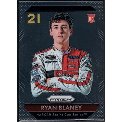 2016 Panini Prizm NASCAR #26 Ryan Blaney Motorcraft/Wood Brothers Racing/Ford Official Racing Card by Panini