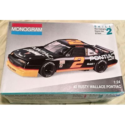 Monogram 1/24 #2 Rusty Wallace Pontiac with extra decals