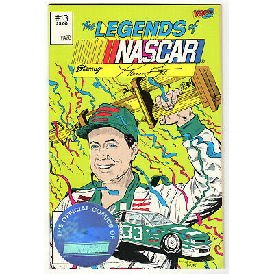 1992 Vortex – The Legends of NASCAR #13 Harry Gant w/Hologram