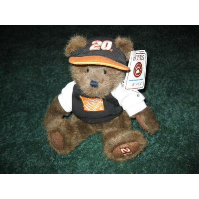 Nascar Boyd's Bear, New with tags, Home Depot Tony Stewart #20