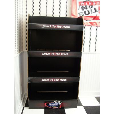 Vintage NASCAR 7 Time Champion Dale Earnhardt Oreo Cookie Store Display Stand