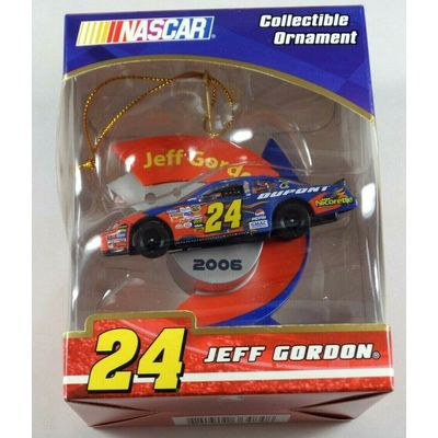 2006 DATED NASCAR JEFF GORDON #24 COLLECTIBLE CHRISTMAS ORNAMENT