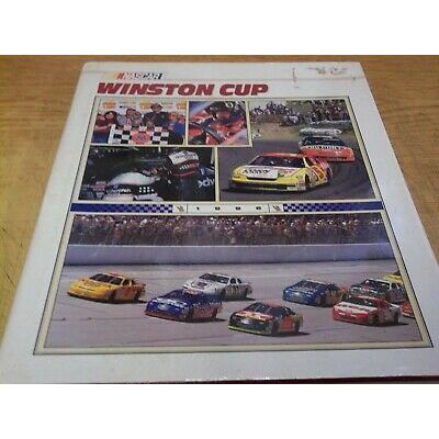 NASCAR WINSTON CUP 1996 yearbook, 215 pgs, HARDCOVER, no additional shipping*