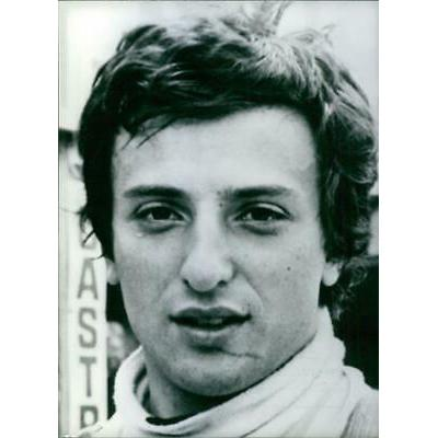 A portrait of Italian Formula One racing driver, Riccardo Patrese in 1978. – Vin