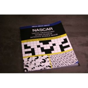 NASCAR Trivia Crossword Word Search Activity Puzzle Book : Best Active NASCAR…