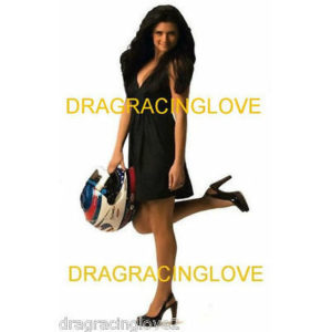"Danica Patrick Race Car Driver HOT SEXY Black Mini Dress ""Indy Car Days"" PHOTO!"