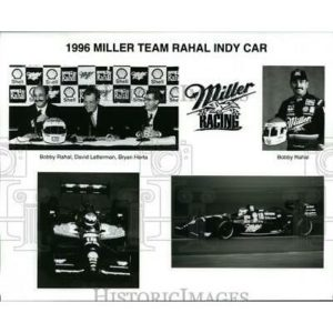 Press Photo 1996 Miller team Rahal Indy Car racing – cvp86518