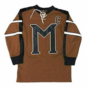 QIMEI Mystery Embroidered #10 Biebe Ice Hockey Jersey F1