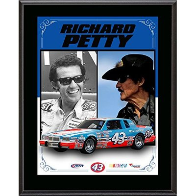 Richard Petty Sublimated 10.5″ x 13″ Stylized Composite Plaque – NASCAR Driver Plaques and Collages