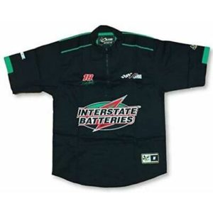 Chase Authentics NASCAR Bobby Labonte Interstate Batteries #18 Vintage Pit Shirt