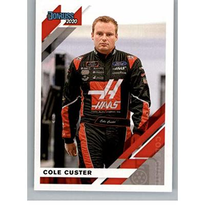 2020 Donruss Racing #57 Cole Custer Haas Automation/Stewart-Haas Racing/Ford Official NASCAR Trading Card From Panini America