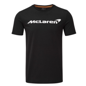 McLaren Essentials Logo T-Shirt in Black