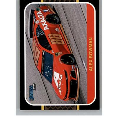 2020 Donruss Racing #200 Alex Bowman Nationwide/Hendrick Motorsports/Chevrolet Official NASCAR Trading Card From Panini America
