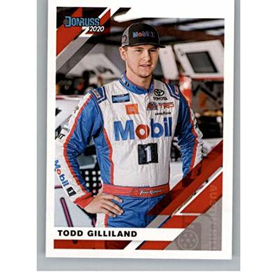 2020 Donruss Racing #76 Todd Gilliland Toyota/Kyle Busch Motorsports/Toyota Official NASCAR Trading Card From Panini America