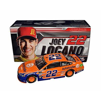 AUTOGRAPHED 2018 Joey Logano #22 Autotrader Racing (Team Penske) Monster Energy Cup Series Signed Lionel 1/24 Scale NASCAR Diecast Car with COA (#065 of only 625 produced!)