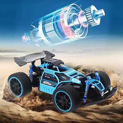 Ksovvoo Rc Car Oversized Remote Control Racing Amphibious High-Speed Waterproof Remote Control Car 4WD F1 Racing 2.4G Long-Distance Control Children's Toys High-Speed Motor