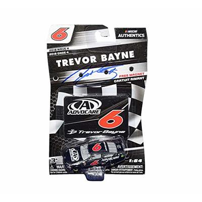 AUTOGRAPHED 2018 Trevor Bayne #6 Advocare Team (Roush Fenway Racing) Monster Energy Cup Series WAVE 4 NASCAR Authentics Signed Lionel 1/64 Scale NASCAR Diecast with Magnet & COA