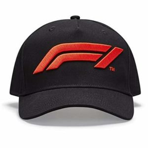 Formula 1 Tech Collection F1 Large Logo Baseball Hat Black/White/Red (White)