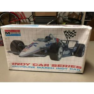 Monogram 1:24 Al Unser Jr Valvoline March Indy Car Model Kit # 2791