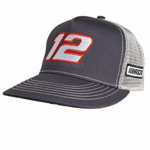 NASCAR Penske Racing Men's 51314-DG/NT-Adjustable-Blaney Smitty, Dark Grey/Natural, Adjustable