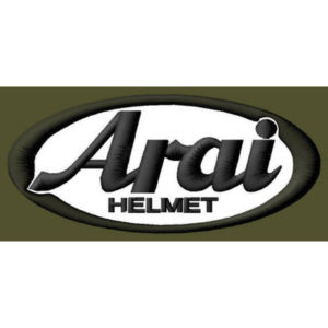 ARAI HELMET EMBROIDERED PATCH ~4″x 1-3/4″ BLK MOTORCYCLE RACING MOTO GP SPORT #2