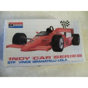 SEALED – MONOGRAM 1/24 STP VINCE GRANATELLI LOLA INDY CAR SERIES 1989  FREE SHIP