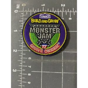 Lowe's Build and Grow Monster Jam Grave Digger Patch Trucks USHRA Hot Rod Assoc.