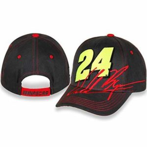 Checkered Flag Sports YOUTH William Byron Big Number #24 Black NASCAR Cap/Hat