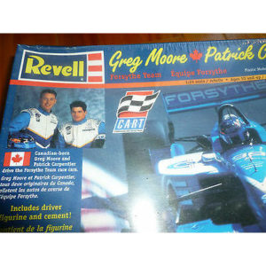 INDY CAR FORSYTHE GREG MOORE PATRICK CARPENTIER MODEL KIT PLASTIC REVELL 1/25 FS