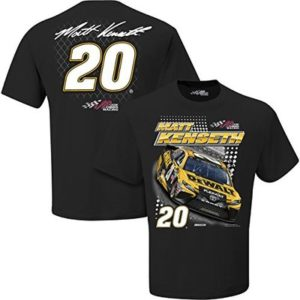 Checkered Flag Sports NASCAR Adult Spoiler 2 Spot Racing T-Shirt (#20 Matt Kenseth, XXXL)