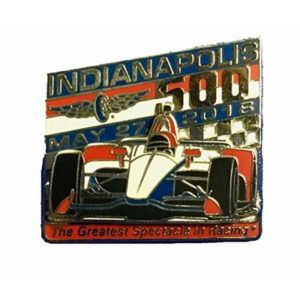 Indy 500 2018 IndyCar Lapel Hat Pin Indianapolis Motor Speedway Exclusive