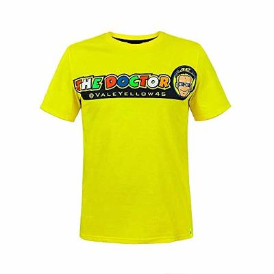 Valentino Rossi Yellow Cupolino T-Shirt VR46 MotoGP Limited Valentino Rossi coll