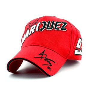 LOVEBLING Fashion Marc Marquez #93 MotoGP Baseball Hat Peaked Cap Red